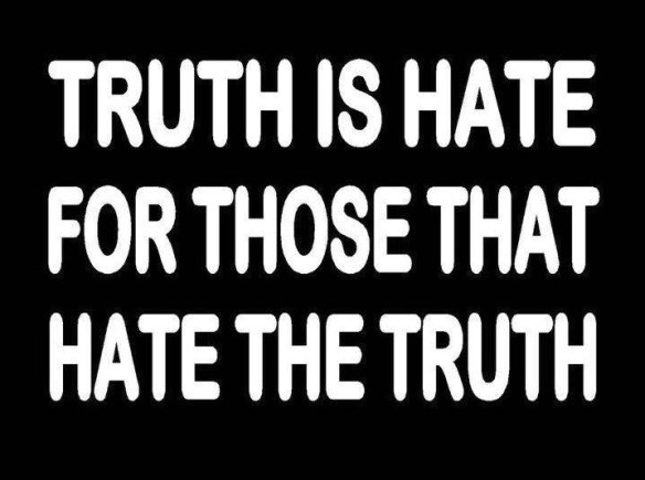 hatred for truth