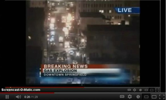 springfield massachusetts explosion video