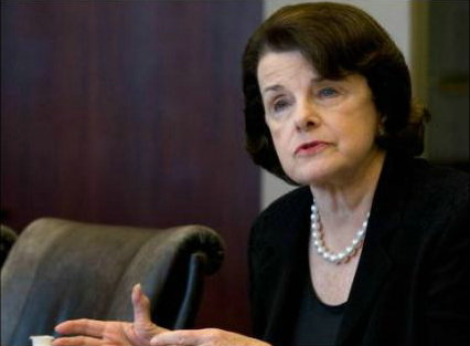 feinstein in conflict of interest