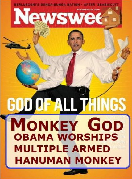 obama as the monkey god