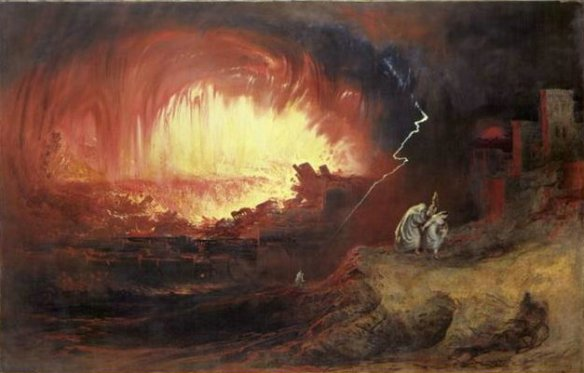 john martin painting of sodom and gomorrah