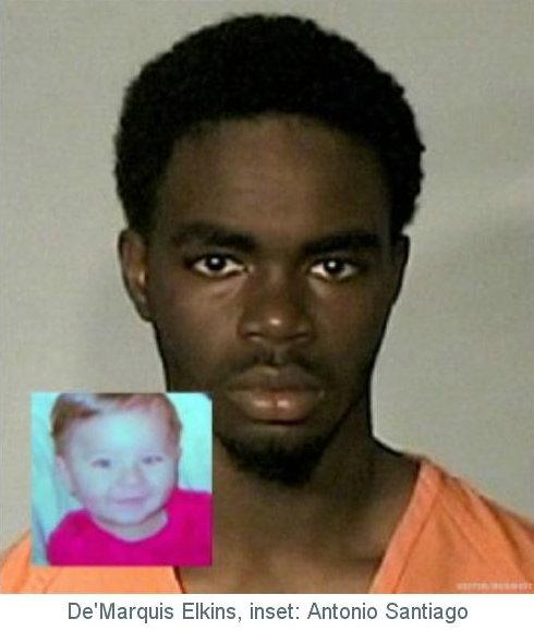 de'marquis elkins and baby he murdered antonio santiago