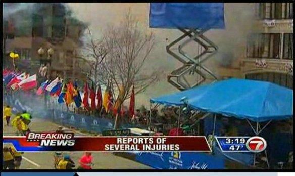 finish line bombs boston marathon