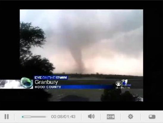 grandury tx tornado