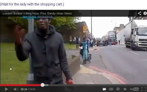 woolwich hoax