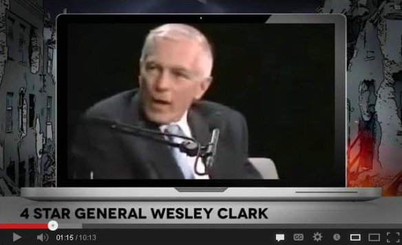 wesley clark on the bankers wars
