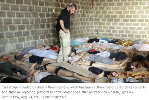 sarin gas attack ghouta syria