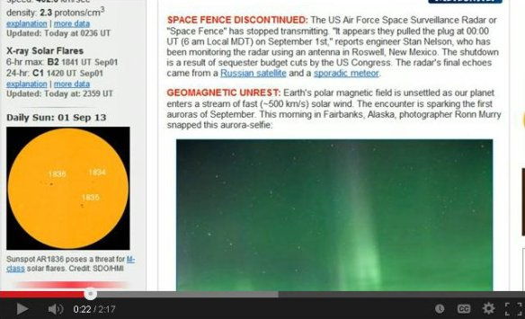 space fence shut down
